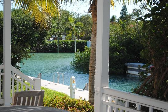 Coral Lagoon: view from our deck