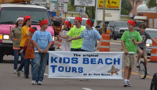 Kids Beach Tours