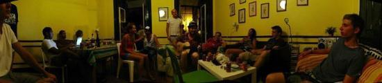 Lisbon Old Town Hostel: One of the living rooms