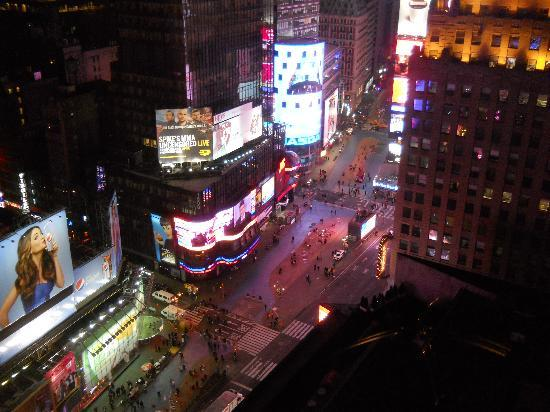 New York Marriott Marquis: View from room