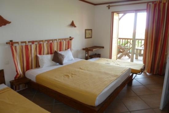 HOTEL CAP MACABOU: la chambre