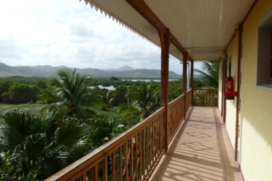 HOTEL CAP MACABOU: accès aux chambres