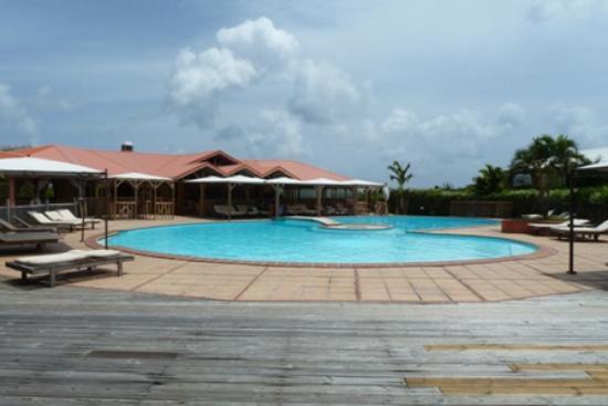 HOTEL CAP MACABOU: la piscine