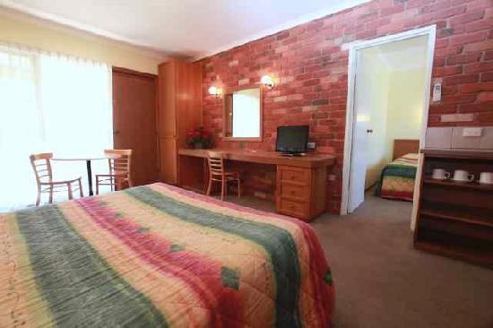 Mansfield Valley Motor Inn: Units for the family