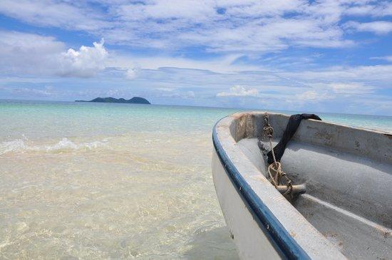 Ovalau Island, Fiji: The sandbank