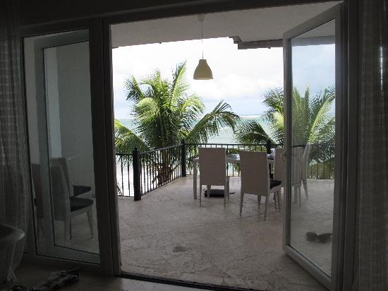 Beach Palace Cabarete: Living room view to terrace