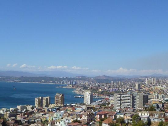 Valparaiso Experience Apartments: view from deck