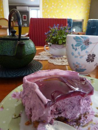 Tante Ingers Tehus: Blueberry cheesecake