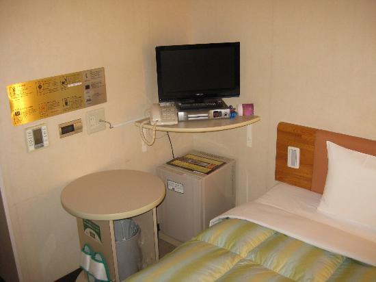 R & B Hotel Morioka Station: view of the work area