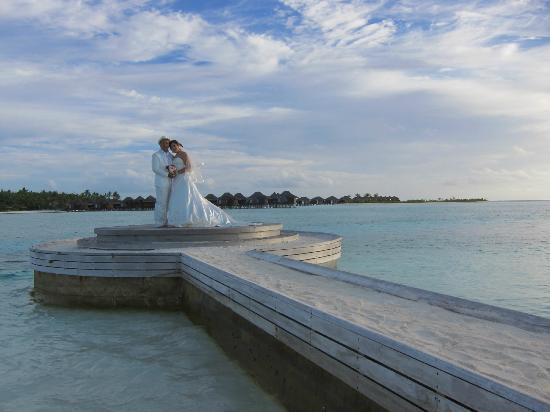 Naladhu Resort Maldives : nice place to take a pre wedding photos