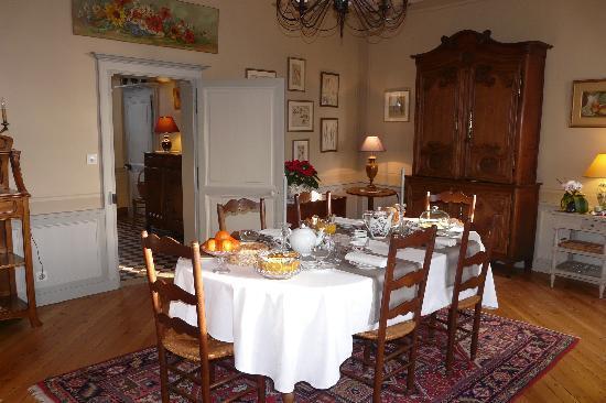 La Trimardière : salle à manger