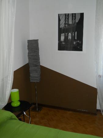 Residence Sole : Particolare della stanza da letto del Bosco
