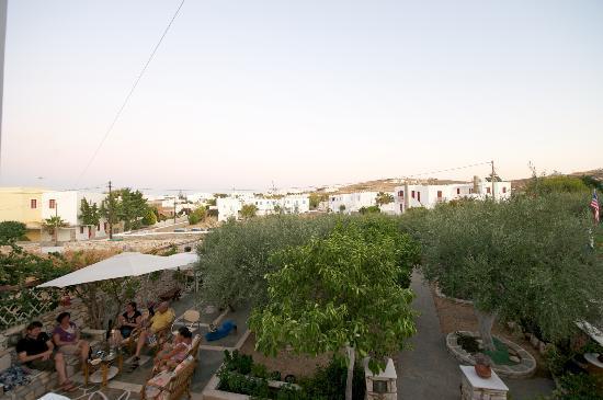 Sunset Studios & Apartments: Utsikt