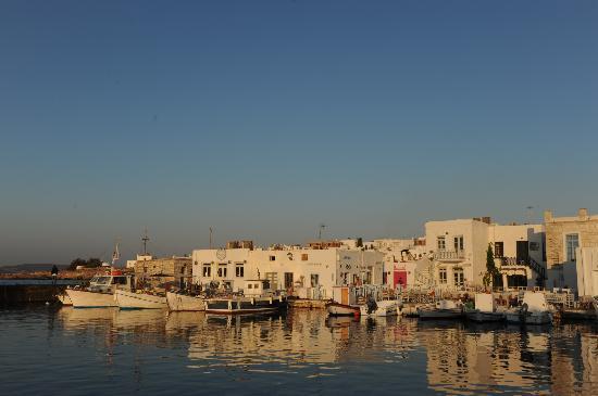 Sunset Studios & Apartments: Havna i Naoussa, skikkelig idyllisk