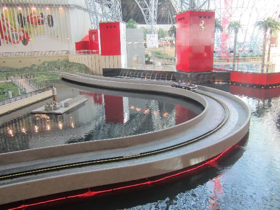 Inside Picture Of Ferrari World Abu Dhabi Abu Dhabi