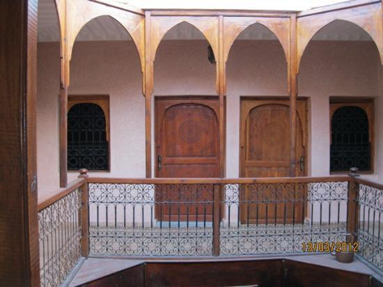 Riad Essaoussan: L'accès aux chambres