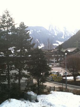 Hotel Garni Obermair: view from annexe room