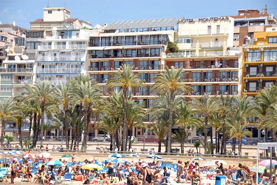Fachada Hotel Montemar