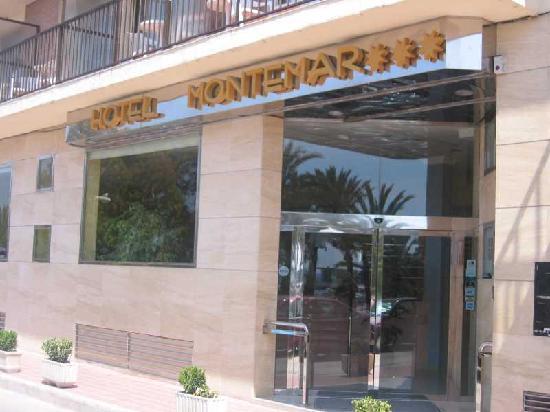 Entrada al Hotel Montemar
