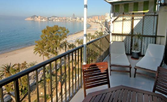 Hotel Montemar: Vistas desde la Habitación VIP