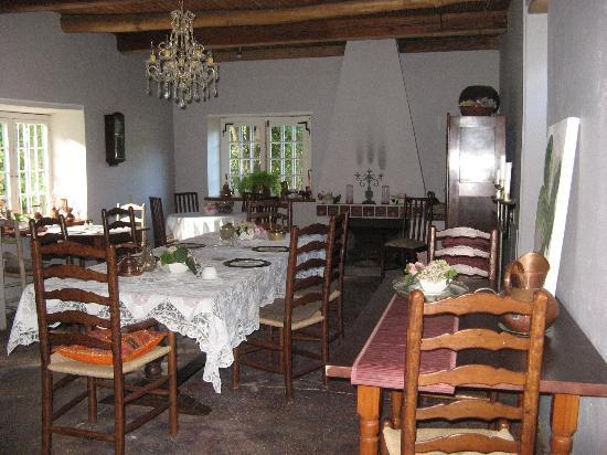 Moolmanshof Bed & Breakfast: breakfast area