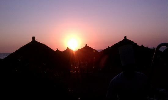 Nuevo Vallarta Beach : Beautiful sunsets!
