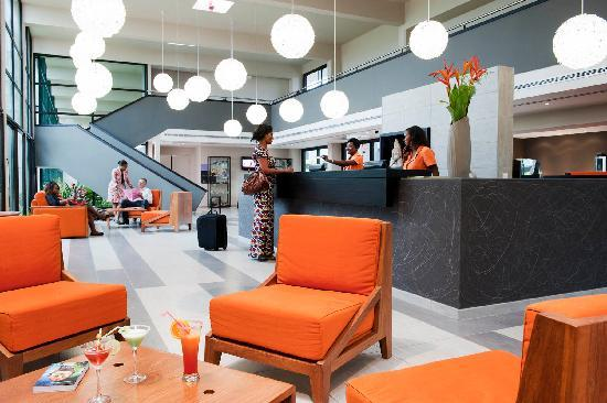 Onomo Hotel Libreville: Reception de l'hôtel