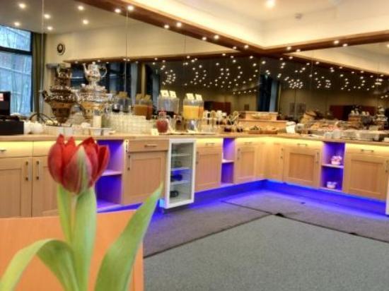 Hotel am Borsigturm: Breakfast area