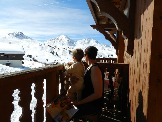 Residence Les Balcons de Belle Plagne : belle vue