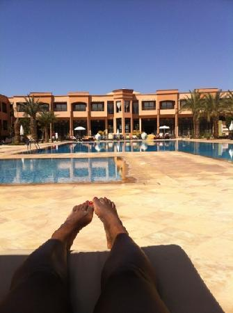 Relaxing By The Pool Picture Of Zalagh Kasbah Hotel And Spa
