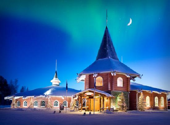 Santa Claus Holiday Village: Reception & Main Building