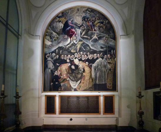 Iglesia de Santo Tome : Iglesia de Santo Tomé: El Greco's 'El entierro del señor de Orgaz'