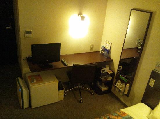 Super Hotel Aomori: 調度品