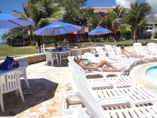 Prodigy Beach Resort Marupiara: Piscina muito boa e também a hidoginastica muito divertida