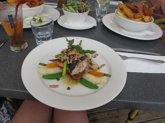 The Moorings Cafe/Restaurant: The King fish special