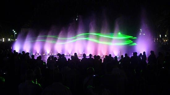 Font Lluminosa: dancing fountain show