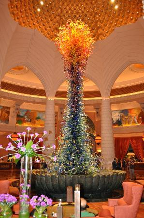 Atlantis, The Palm: The lobby