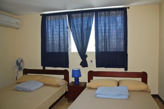 Trinity Lodge: Chambre privee