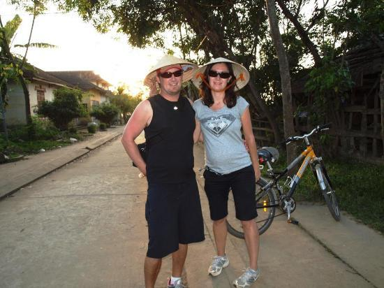 Heaven and Earth Bicycle Tours: Getting away from the busy cities was great
