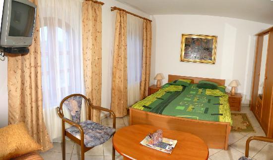 Hotel-Pension Residenz am Plattensee: Doppelzimmer/Bespiel