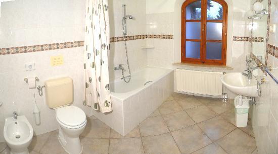 Hotel-Pension Residenz am Plattensee: Badezimmer/Beispiel