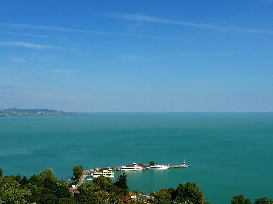 Hotel-Pension Residenz am Plattensee: Balaton nur wenige Gehmimuten