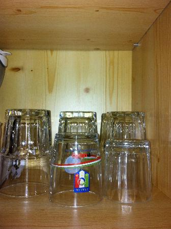 Hotel Teresa: bicchieri assortiti