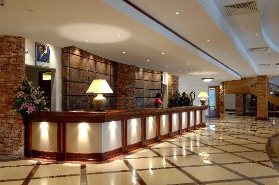 Kampala Serena Hotel: Reception