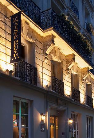 Hotel Sainte Beuve: Notre facade