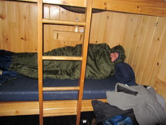 Lonesome Lake Hut: Actually, quite comfy!