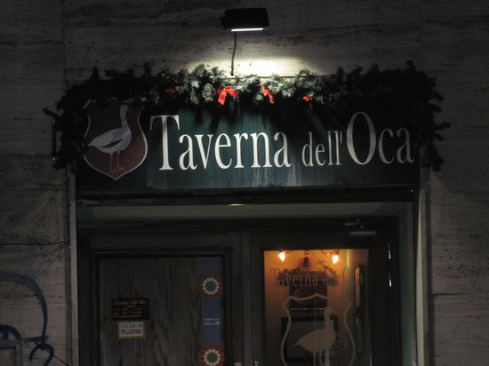 Taverna dell'Oca: The entrance