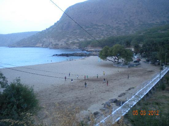 Tarrafal, Kap Verde: The beach, the sporty local and the hotel