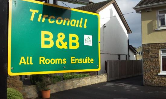 Tirconaill B&B: External tag
