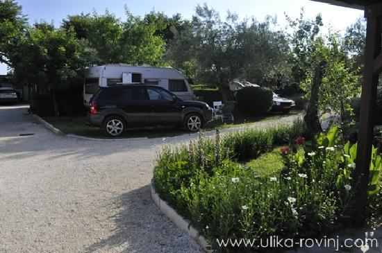 Camp Ulika Rovinj: Campsite plots at Ulika Rovinj
